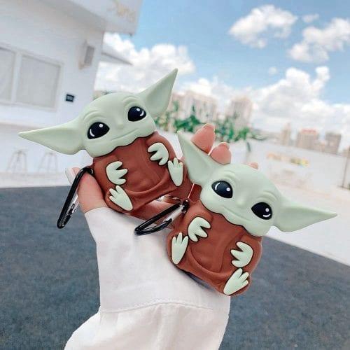 Baby Yoda AirPods Case