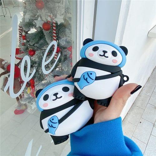 Eskimo Panda AirPods Case Cover